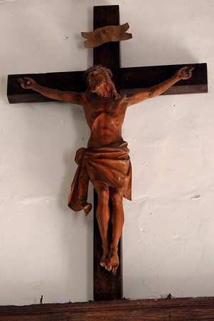 Crucifix at St Marks, South Park