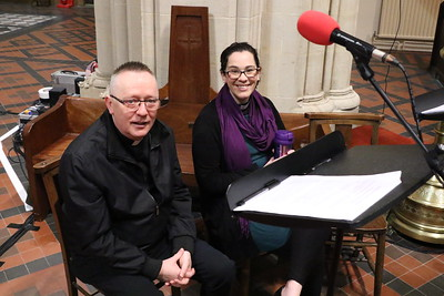 St Mary's broadcasting to the nation on Radio 4 13 January 2019
