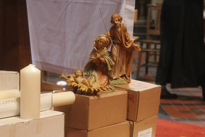 Mary, Joseph and Jesus. 2 February 2012