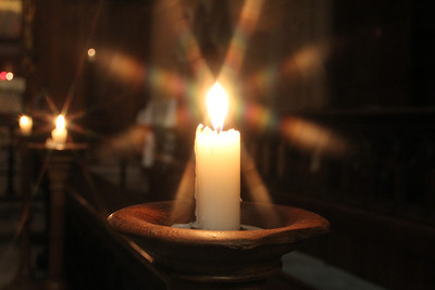 A candle burning bright. 2 February 2012