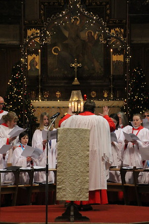 "The Cathedral Choir under the direction of Frikki Walker singing ""A Christmas Blessing"" by Philip Stopford. 24 December 2014"