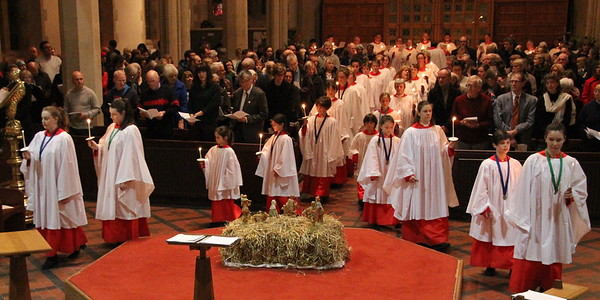 Carol Service at St Mary's - 24 December 2016