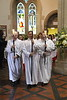 Easter Eucharist at St Mary's Cathedral. Glasgow<br /> 16 April 2017