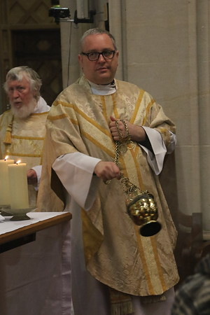Easter Eucharist at St Mary's Cathedral. Glasgow 16 April 2017