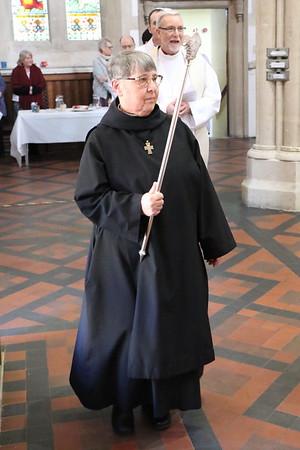 Sister AJ verging the Bishops