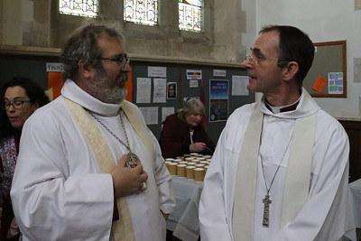 Bishops Mark Strange and Andrew Swift