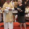 Church Warden giving a brief talk about Kelvin.