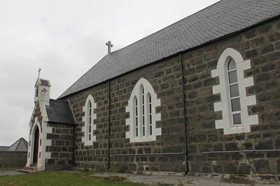 St Michael's Church Haun, Eriskay 10 July 2011