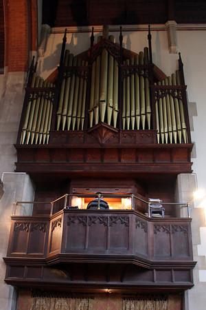 Organ in the Chancel.. 28 January 2012