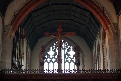 Crucifix on the screen. 28 January 2012