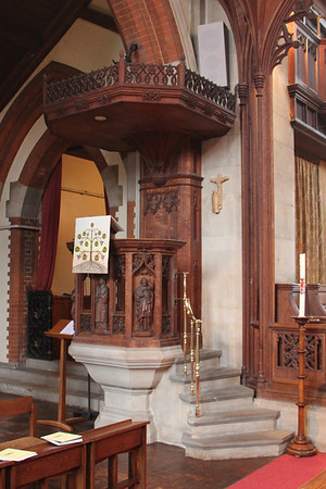 Pulpit. 28 January 2012
