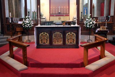 Nave Altar. 28 January 2012