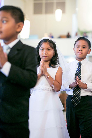 St. Theresa First Communion (Sun. - May 5)