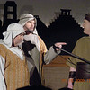 "Next to last performance - Lemuel (me) doing his line -- deriding Nephi -- ""... we knew ye were lacking in judgement."""