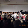 Next to last performance - the finale (with cast in front)