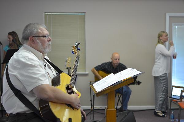Sunday at Beulah Baptist Association HQ