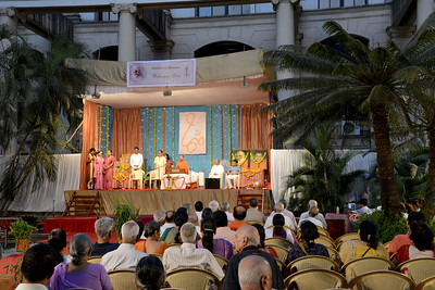 "Swami Advaitananda's talk ""Essense of Ramayan"" at Olympia, Hiranandani Gardens, Powai, Mumbai on 1st May to 7th May 7 pm to 8.30 pm"