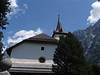Protestant Church in Grindelwald Side View