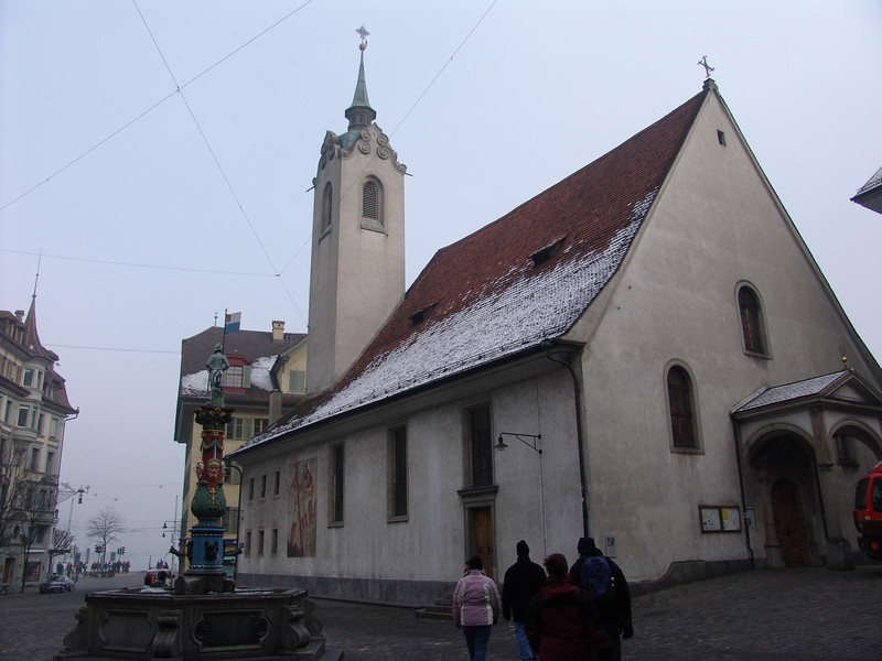 Old Swiss Church in Lucerne
