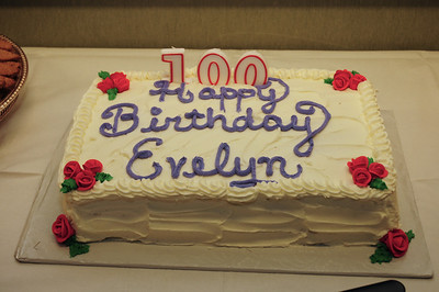 Evelyn Berman's 100th Birthday
