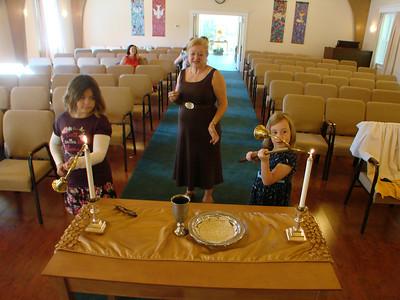 Thanksgiving Worship, Meal 2012