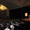 Fr. Helmut addresses a crowd of 800 in Detroit, MI.