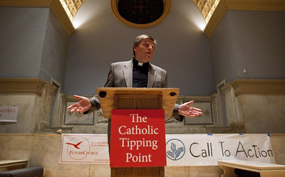 The Catholic Tipping Point begins in New York. Photo by Ramin Talaie for the National Catholic Reporter.