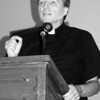 Fr. Helmut at Chestnut Hill College in Pennsylvania. Photo by Katharine Gilbert