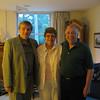 Fr. Helmut, Sr. Chris Schenk, and Fr. Gerry in Detroit, MI