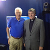 Bill Press and Fr. Helmut in Washington, D.C.
