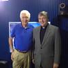 Bill Press and Fr. Helmut in Washington, D.C.
