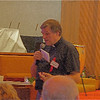 Fr. Helmut addresse a crowd of 300 in Portland, OR
