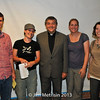 Young Catholics in Cleveland meet with Fr. Helmut