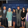 (L - R) Angela Keane, President of National Press Club<br /> Ben Palumbo, Catholics in Alliance for the Common Good<br /> Dolly Pomerleau, Co-Founder, Quixote Center<br /> Erin Saiz Hanna, Executive Director Women's Ordination Conference<br /> Fr. Helmut Schuller<br /> Kate Conmy, Assistant Director, Women's Ordination Conference<br /> Sr. Jeannine Gramick, National Coaltion of American Nuns and Co-Founder, New Ways Ministry