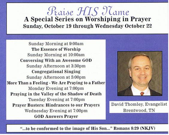 Thomley Gospel Meeting