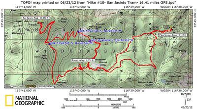 Troop 134 San Jacinto Hike- June 2012