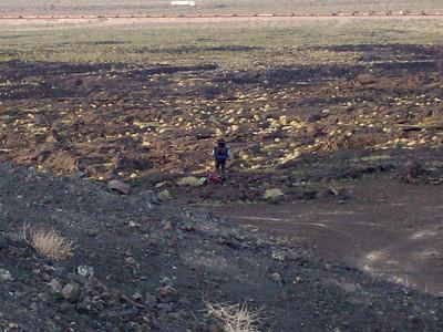 Troop 140 & 134 Pisgah Lava Tubes - April 2009
