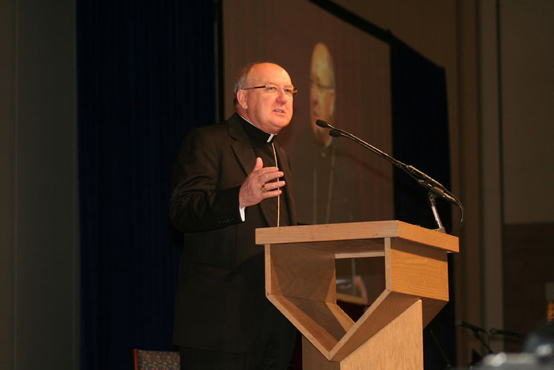 The Dioceses of Fort Worth and Dallas teamed up to host the sixth annual University of Dallas Ministry Conference. The conference featured a keynote address by Cardinal Roger Mahoney, workshops by ministry professionals from around the country, music, prayer and a closing Mass. (Photo by Joan Kurkowski-Gillen)