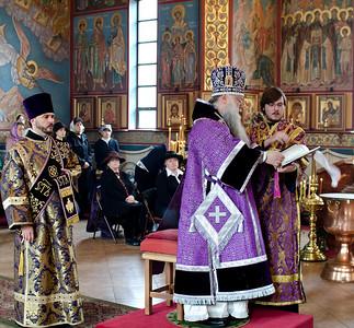 Visit of Bishop Peter 2011 April