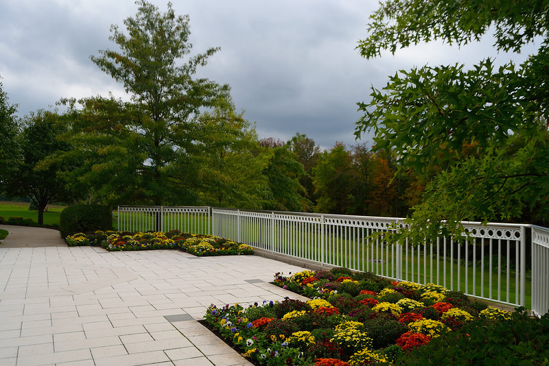 Grounds of the Palmyra New York Temple