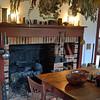 Kitchen hearth, Smith Family frame home.
