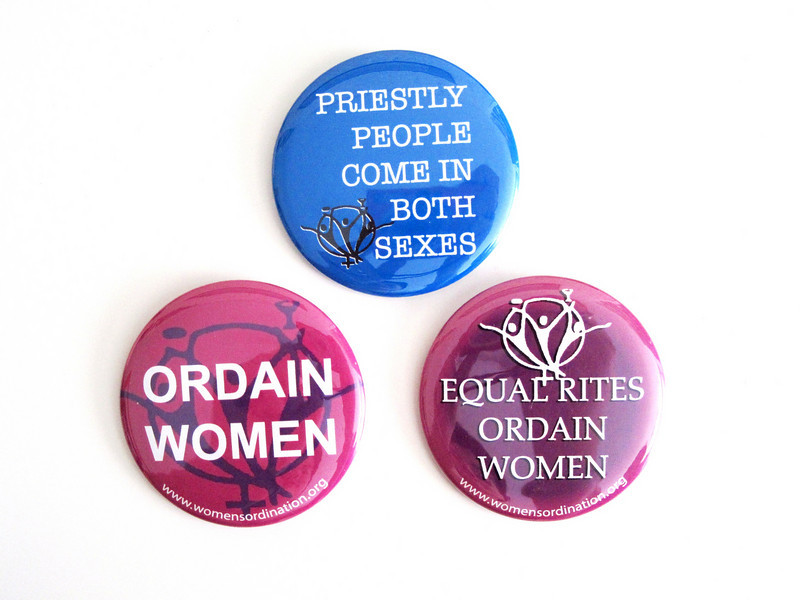 Our three button designs.