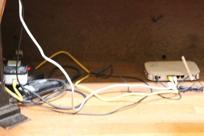 Cantoris choristers at Wells Cathedral have thier own Wifi hub.  20 October 2014