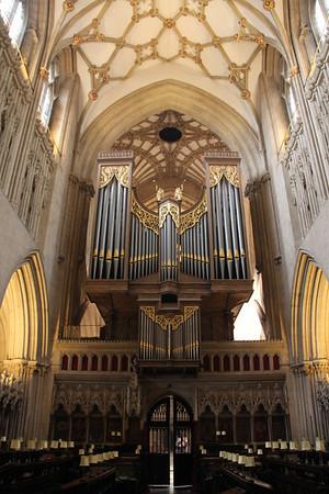 Wells Cathedral Organ.  20 October 2014