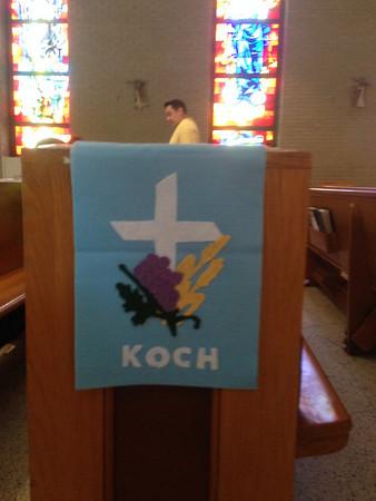 William Koch 1st Communion