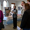 In Grace Hall (fourth floor) Sister Madonna Ratermann acted as a tour guide for the open house