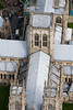 York Minster from the air.