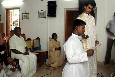 Br. Sajeevan makes his Final Vows.