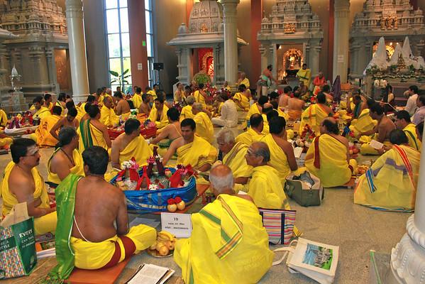Maha Rudhram 2012 Day One