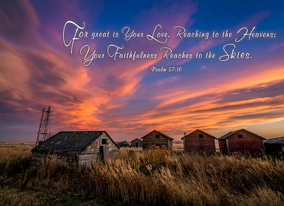 Sunset--Sheds-Scripture